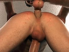 Two studs enjoying some nice blowjob and anal action in here