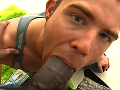 Huge cock in tight gay asshole